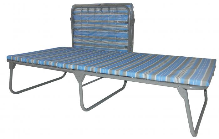 Heavy Duty Steel Cot With Foam Mattress 1755476b8317