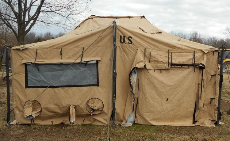 Modular General Purpose Tent System MGPTS (18u2032 X 36u2032 Medium) Modular General & surplus tents | army surplus tents | Buy Surplus Tents