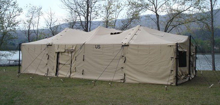& MODULAR GENERAL PURPOSE TENT SYSTEM (18u2032 X 54u2032) LARGE