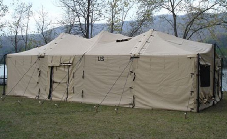 MODULAR GENERAL PURPOSE TENT SYSTEM (18′ X 54′) LARGE