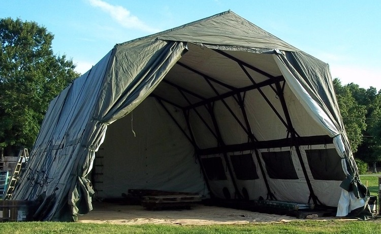 LIGHTWEIGHT MAINTENANCE TENT (LME 24u2032 X 32u2032) LIGHTWEIGHT MAINTENANCE TENT (LME & Military Tents | Military Tents For Sale | Buy Military Tents