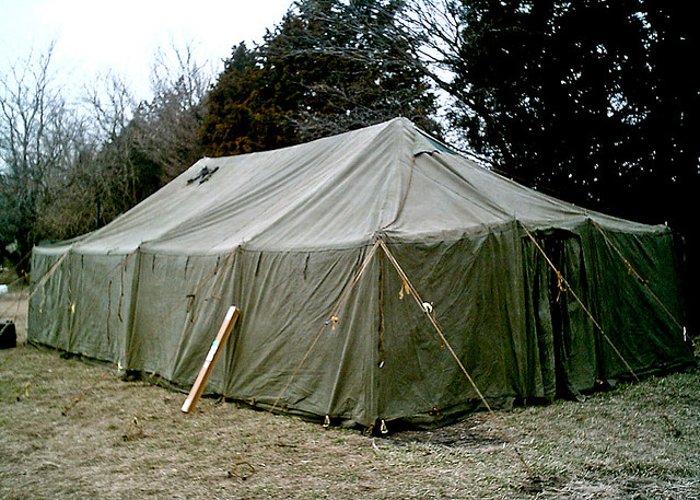 army prop rental tents