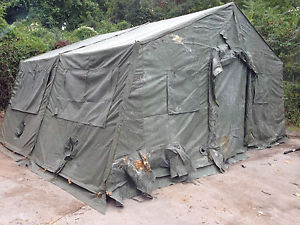 TEMPER TENT (20′ X 24′) Reconditioned Green